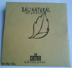 Kemasan 100gram. Milk Bath Coffee, Harga Rp. 10.000,-